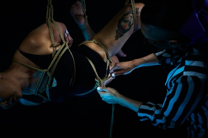 Shibari and Rope Work Experiences, Classes, and Events
